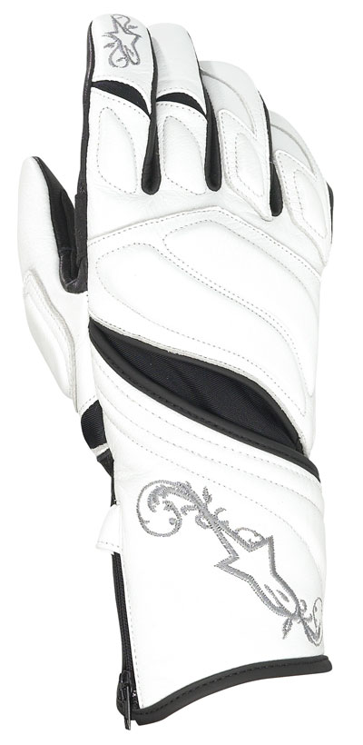 ALPINESTARS Stella Tyla women leather gloves col. white