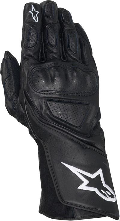 ALPINESTARS SP-8 leather gloves col. black