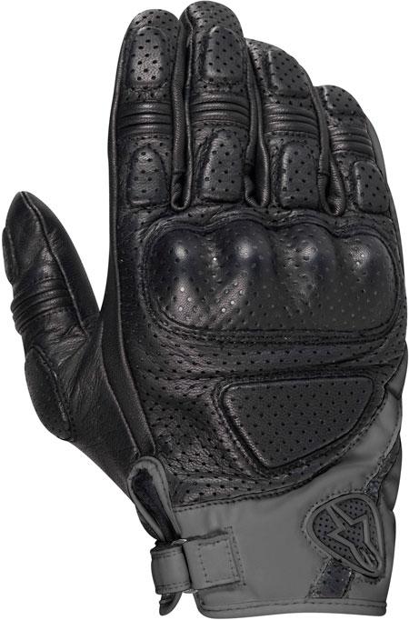 ALPINESTARS Mustang leather gloves col. black-dark grey