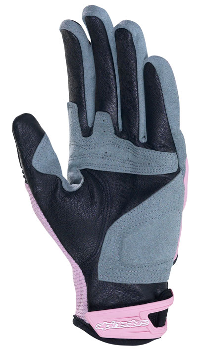 ALPINESTARS Stella SMX-4 women leather-neoprene gloves col. pink