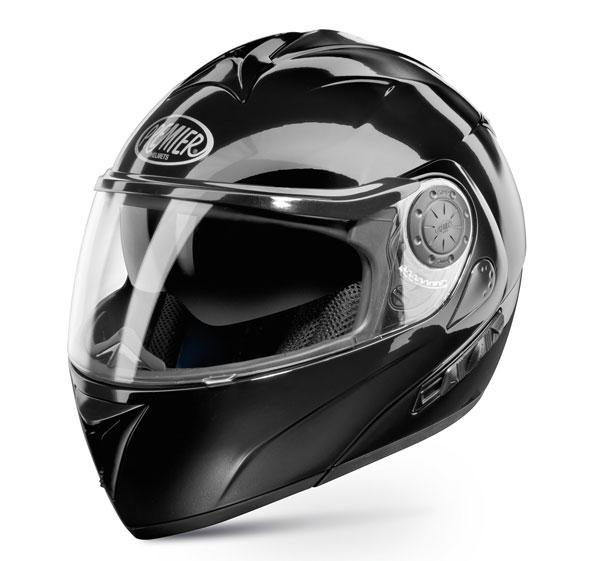 Modular Motorcycle Helmet Premier DREAM LINER black double visor