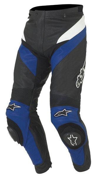 Alpinestars Apex racing leatheer pants black-blue