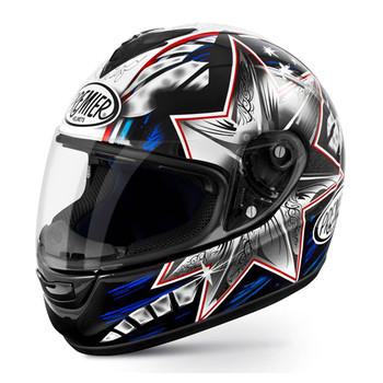 Casco integrale Premier Monza in fibra replica bayliss