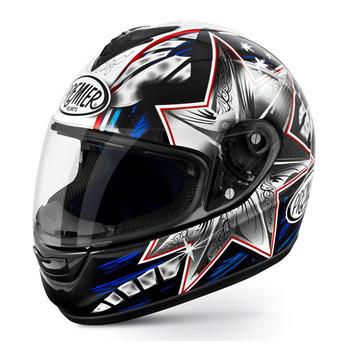 Full face helmet Premier Monza fiber replica bayliss