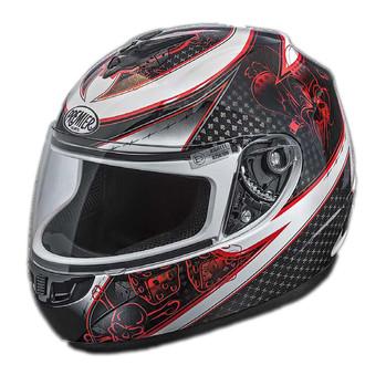 Full face helmet thor Premier joker multicolor white base