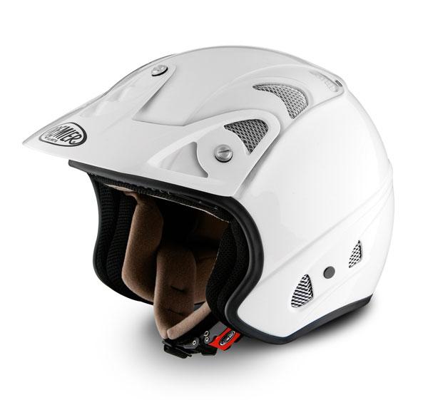 Casco moto jet Premier FREE bianco
