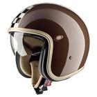 Casco moto jet Premier Vintage in fibra special colour ck brown