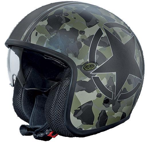 Premier Vintagejet helmet Camouflage BM