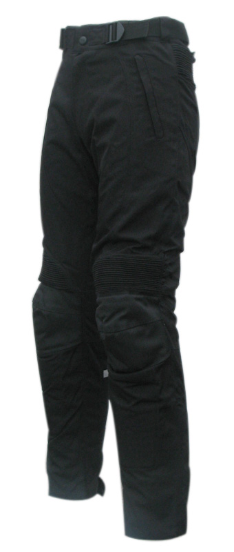 Fabric woman trousers Black