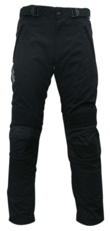 Fabric trousers Black