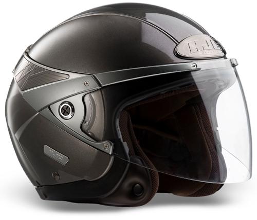 Casco moto jet HJC Arty Antracite
