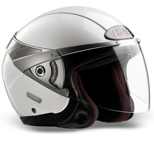 HJC Arty jet helmet White