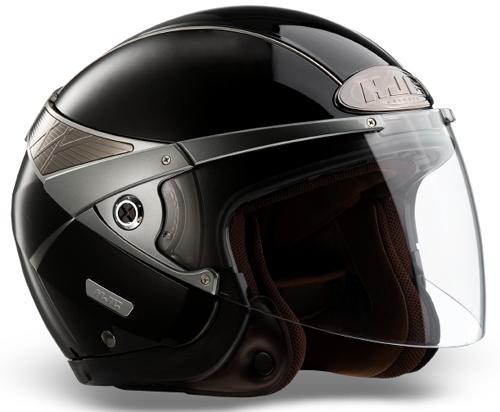 HJC Arty jet helmet Gloss Black