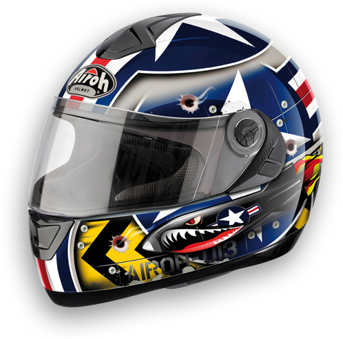 Motorcycle Helmet Airoh Aster-X Aircraft