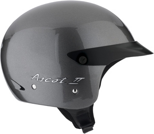 Casco moto Mds By Agv Ascot II Mono gunmetal