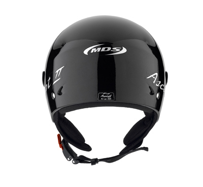 MDS by Agv Ascot II Mono jet helmet col. metal black