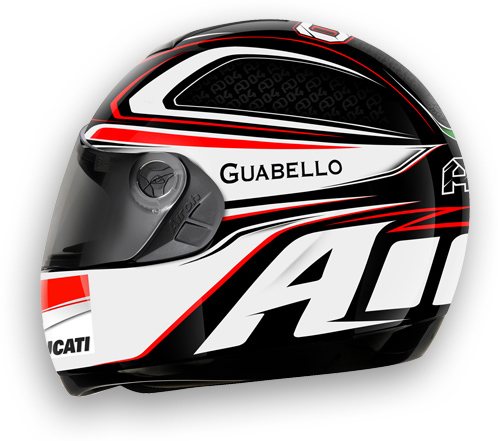 Motorcycle Helmet Airoh Aster-X Reply Dovizioso