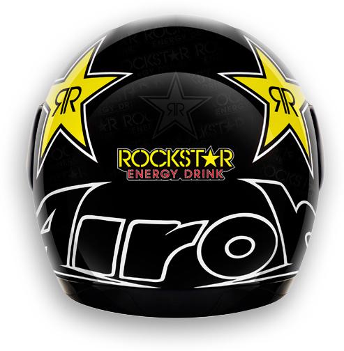 Motorcycle Helmet Airoh Aster-X Rockstar