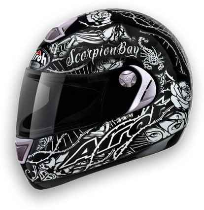 Motorcycle Helmet Airoh Aster-X Scorpion Bay