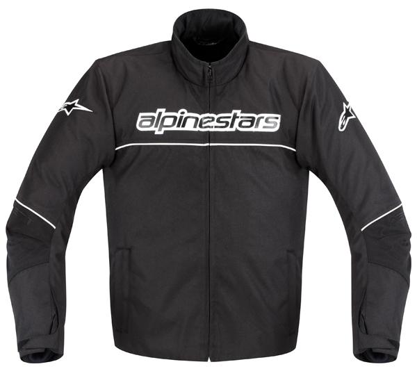 Alpinestars AST-1 WP Waterproof  motorcycle jacket black-white