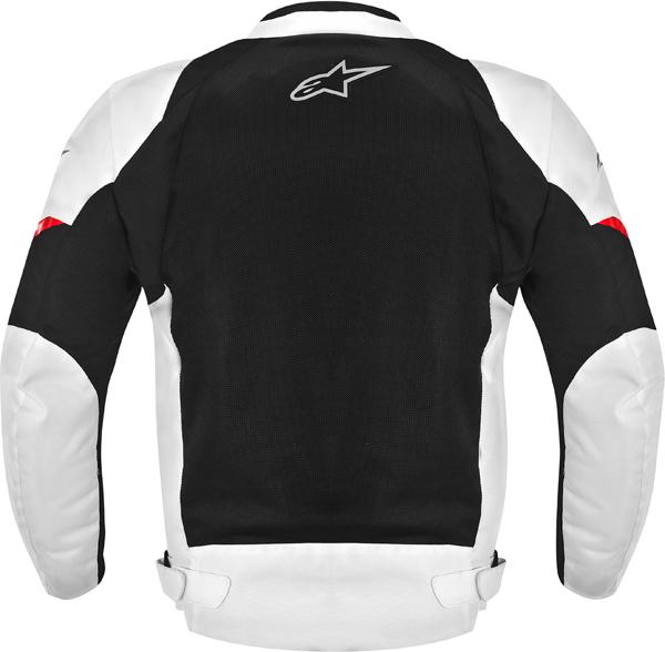 Giacca moto Alpinestars AST AIR nera-bianco-rosso