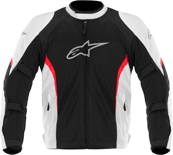 Alpinestars AST AIR textile jaxket black-white-red
