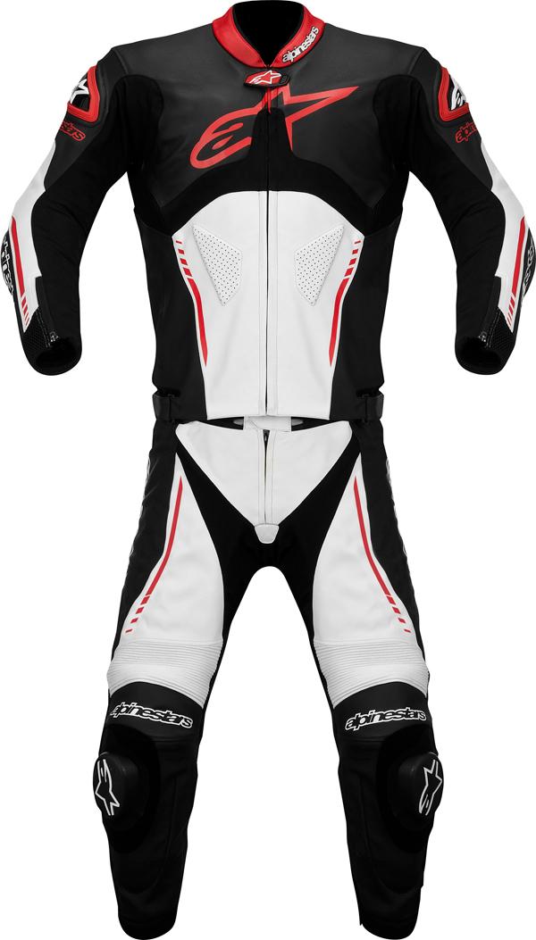 Alpinestars  Atem Combi 2 pieces leather suit black-white-rde