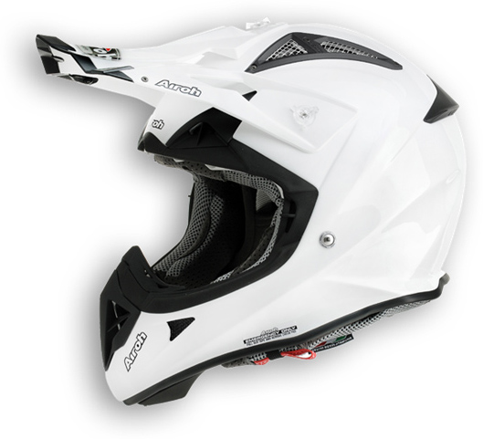 Airoh Aviator 2.1 Color offroad helmet white gloss