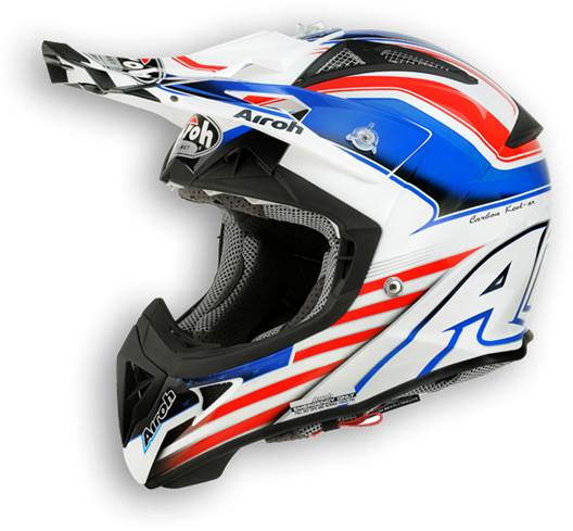 Casco moto offroad Airoh Aviator 2.1 Capitain