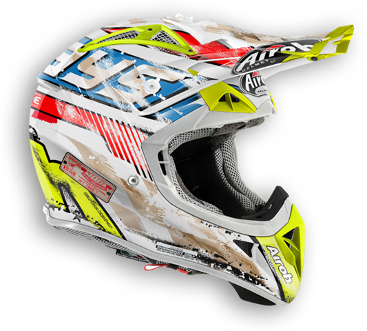 Casco moto offroad Airoh Aviator 2.1 Six Days
