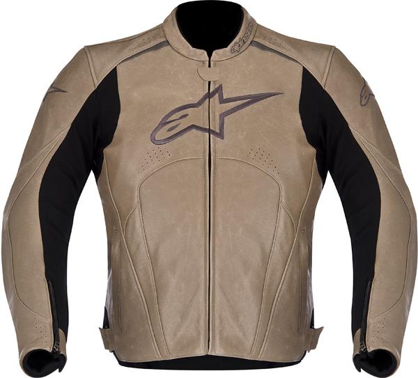 Alpinestars Avant leather jacket pyrite