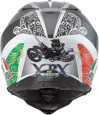 Agv Ax-8 Evo Replica Philippaerts off-road helmet