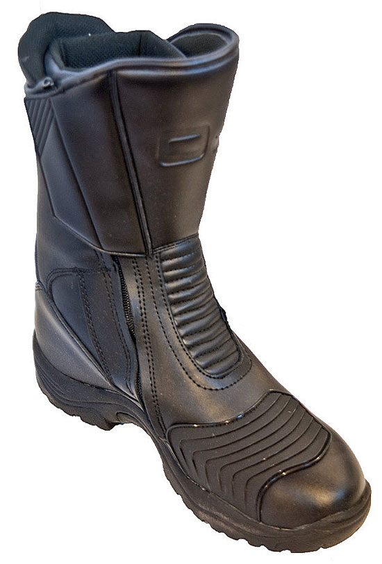 OJ MIles motorcycle boots black