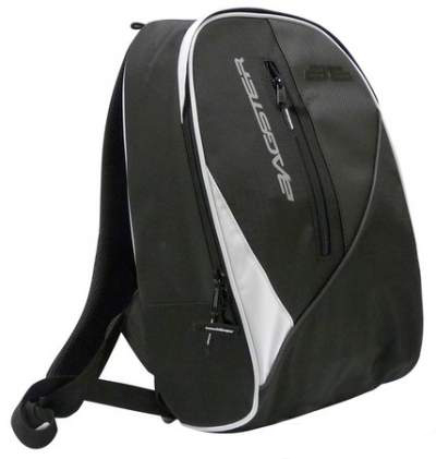 Bagster Tracker Bag White-Black