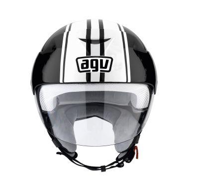 Casco moto Agv Bali II Multi B3 nero-bianco
