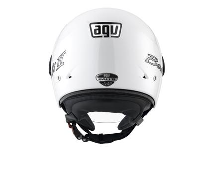 Casco moto Agv Bali II Mono bianco
