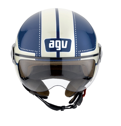 AGV Bali Copter Multi Chopper open-face helmet col. light blue/c