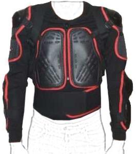 Protective motorcycle jacket