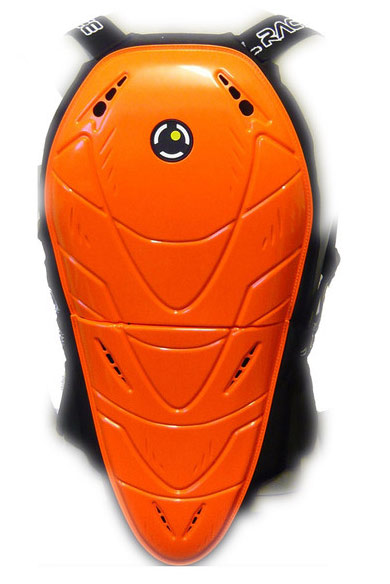 Soul Race MF Bender level 2 back protector Orange