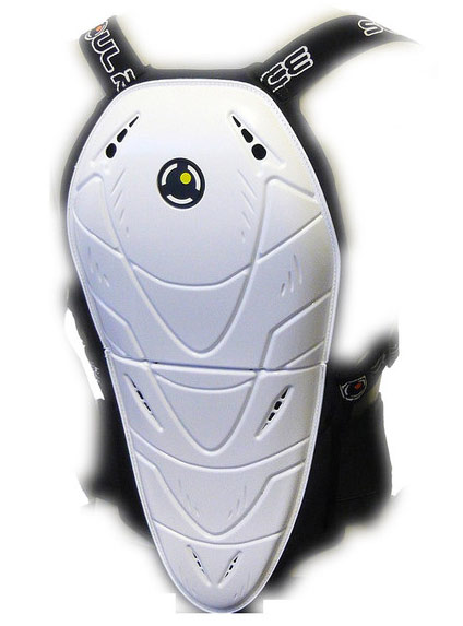 Soul Race MF Bender level 2 back protector White
