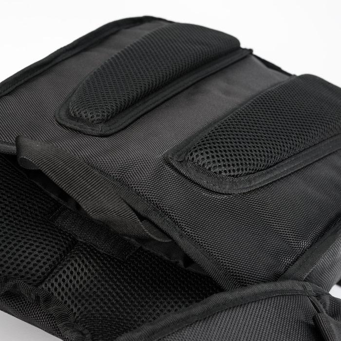 Blauer Parachute Ballistic backpack Black