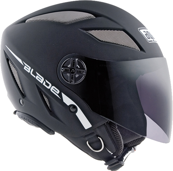 Agv Blade Air-Net Mono matt black open face helmet