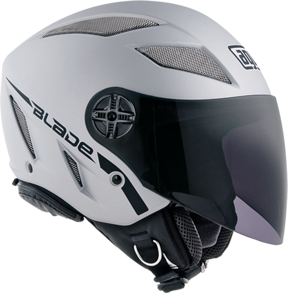 Casco moto Agv Blade Air-Net Mono silver opaco
