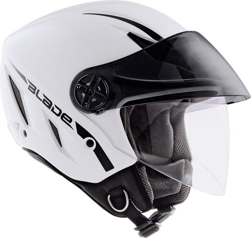 Casco moto Agv Blade mono bianco lucido