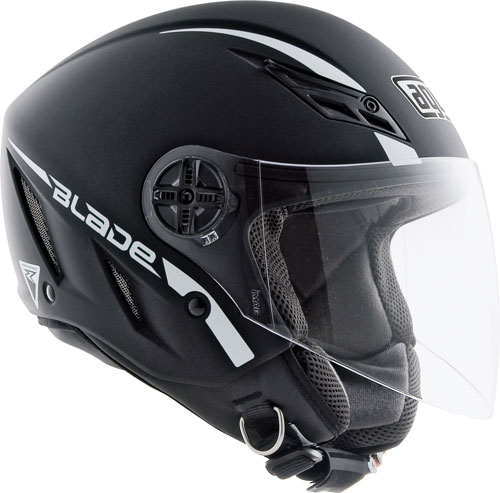 Casco moto Agv Blade mono nero opaco