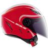 Casco moto Agv Blade Multi Start rosso-bianco