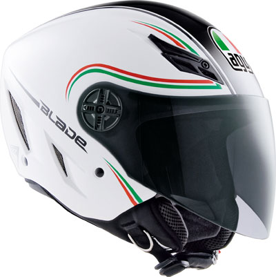 Agv Blade Multi Start Italy open face helmet silver