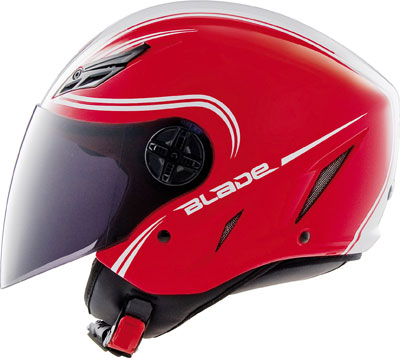 Agv Blade Multi Start open face helmet red-white