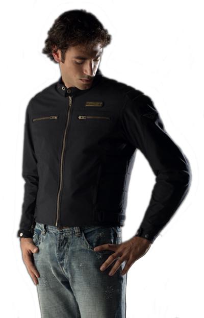 Prexport Blog waterproof jacket Black