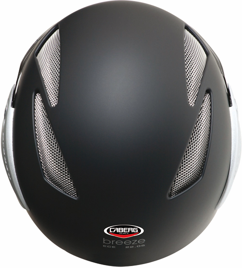 Casco moto Caberg Breeze nero opaco